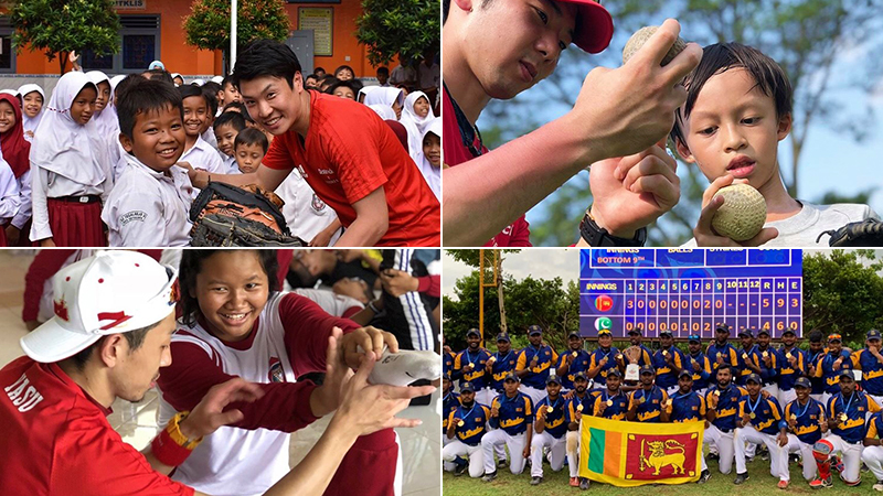 【Dr.stretch 社会貢献活動「インドネシア野球キャラバン2020」】