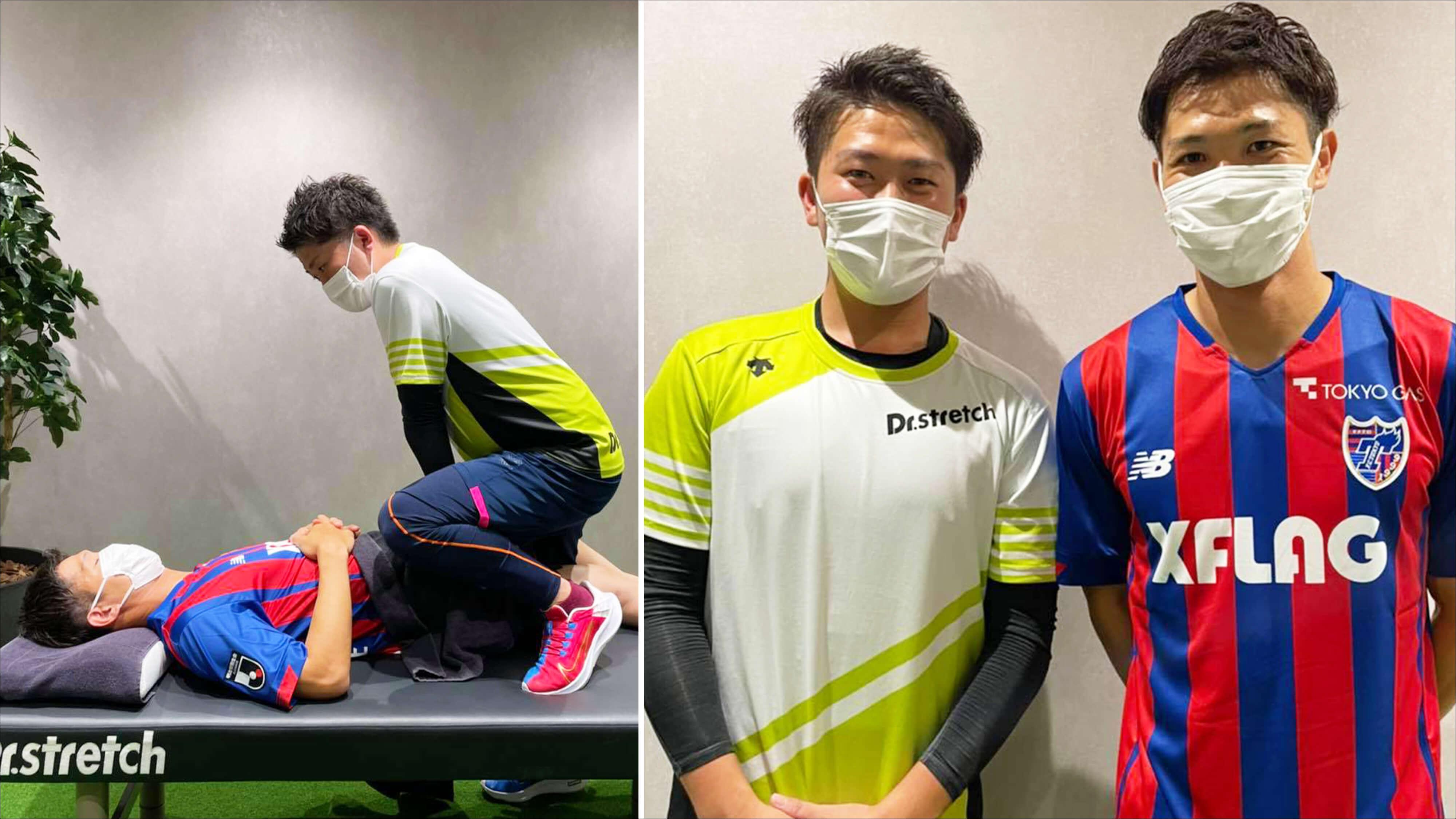 FC東京所属、元サッカー日本代表 森重真人選手がコアバランスストレッチを体感されました